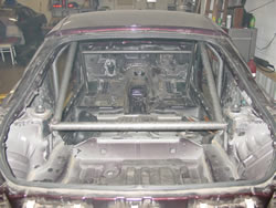 Roll Cage from rear view