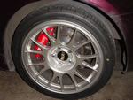 BBS RE 18x9.5 Wheels with Yokohama AVS Sport 275/35/18 tires