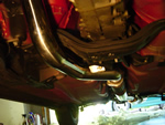 Downpipe and Cat Back Installed