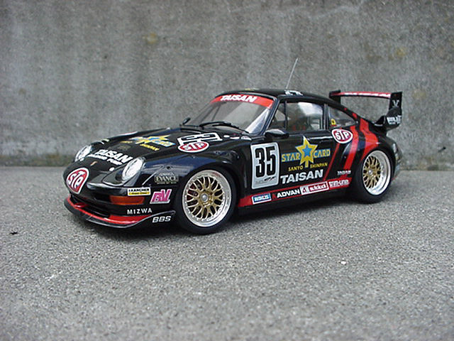 tamiya taisan starcard porsche 911 gt2 by primera man. Black Bedroom Furniture Sets. Home Design Ideas