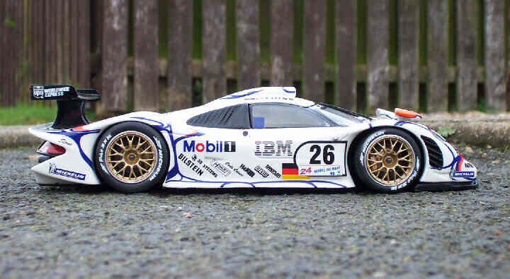 1 24 scale productions porsche 911 gt1 1998 by steve gibbins. Black Bedroom Furniture Sets. Home Design Ideas